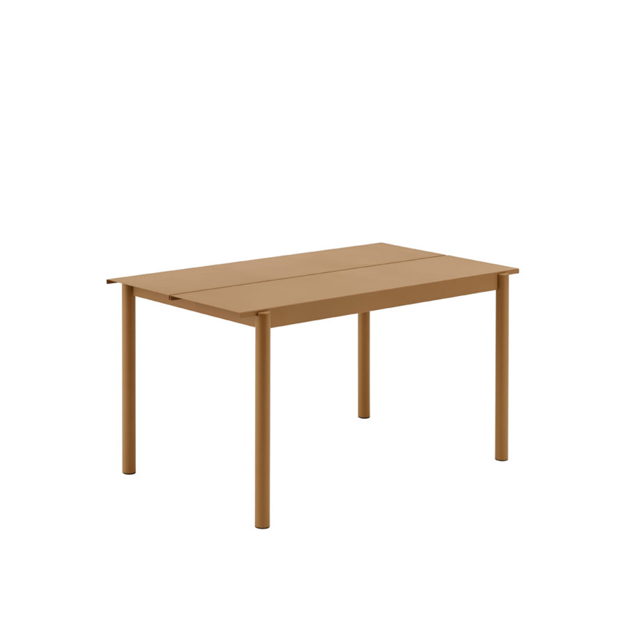 Linear-steel-outdoor-table-140-burnt-orange-Muuto-hi-res