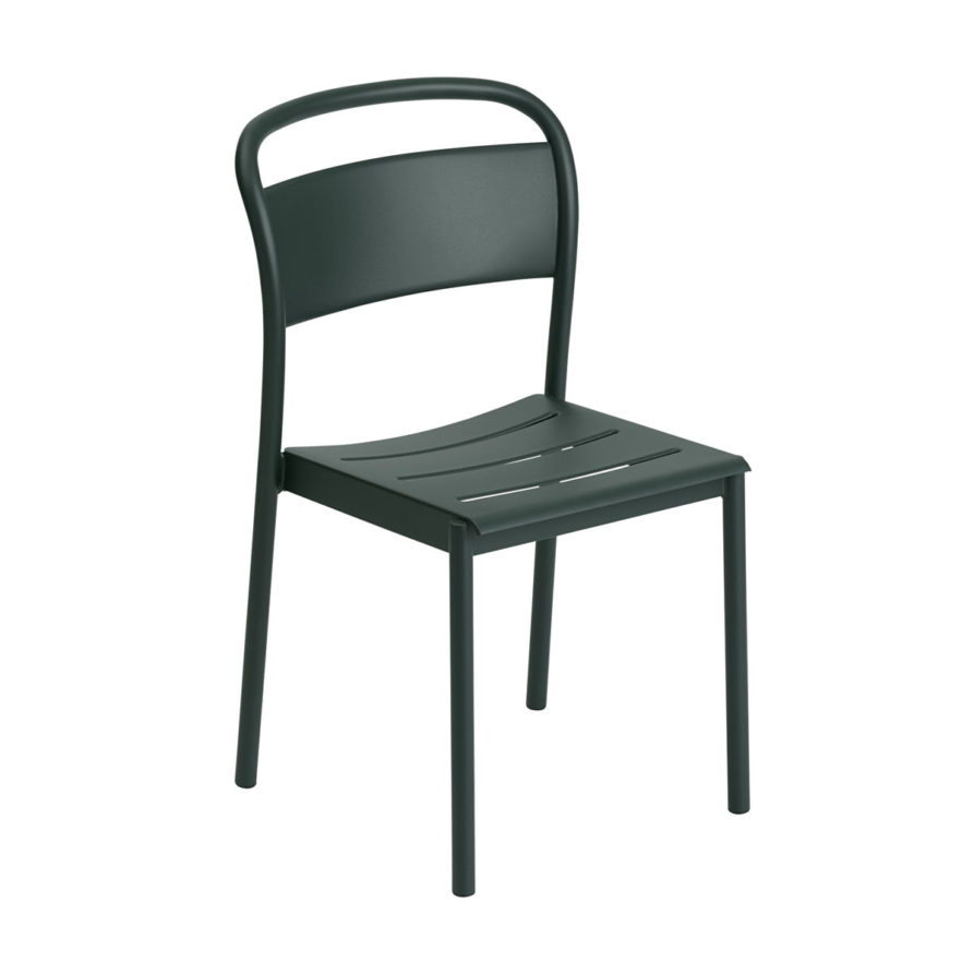 Dark Green Side Chair